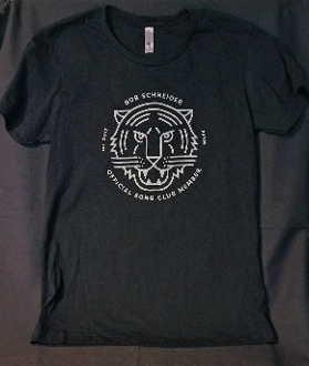 SONG CLUB WOMEN'S BLACK TEE